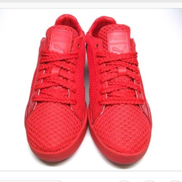 e06423fedcf8 Puma x Solange Knowles Red Sneakers. M 5af7b9f8a4c4852e32f07fa2